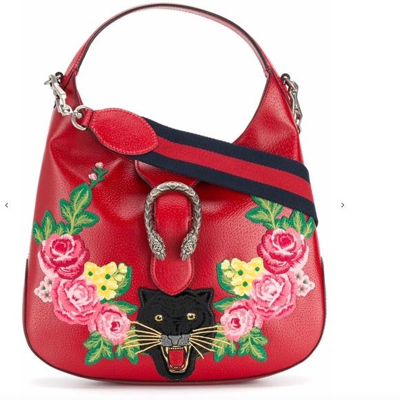 Gucci Handbags - GUCCI Dionysus hobo tote